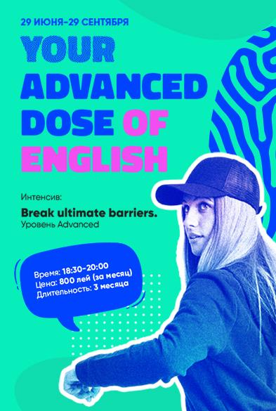 Your Advanced Dose of English